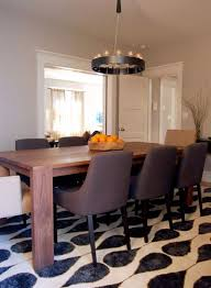 center base dining table houzz how to choose a rug for your dining room