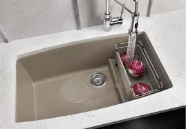 blanco kitchen faucets canada blanco performa cascade single bowl with divider