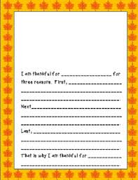 thanksgiving writing worksheets independent centers by buford