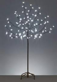 led artificial cherry blossom tree with led lights pu cherry