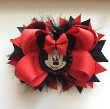 minnie mouse hair bow 110 best mickey and minnie mouse hair bows images on