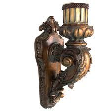 Candle Wall Sconces World Menagerie Rusted Wall Sconce Candle Holder U0026 Reviews Wayfair