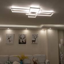 Led Deckenbeleuchtung Wohnzimmer Aliexpress Com Neo Gleam Rechteck Aluminium Moderne Led