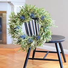 Wreath For Front Door Olive Wreath Summer Wreath Housewarming Gift Front Door Wreath