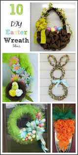 10 fun easter wreaths gym craft laundry