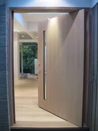 Hardwood Exterior Doors White Oak Front Door Contemporary Entry Vancouver By