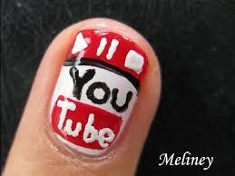 i love youtube nails nail art pen tutorial design for short