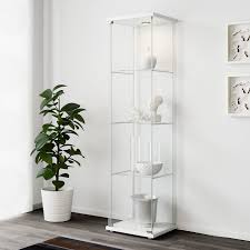 wall mounted kitchen display cabinets detolf glass door cabinet white 16 3 4x64 1 8
