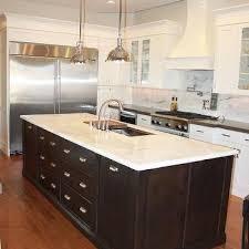 calcutta marble kitchen island design ideas
