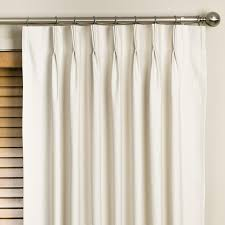 Curtains 100 Length Ultimate Luxury Palace Solid Semi Sheer Pinch Pleat Curtain Panels