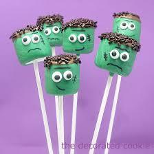 marshmallow pops for halloween