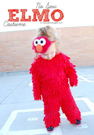 Minnie Mouse Halloween Costume Toddler Diy Sew Elmo Halloween Costume Elmo Elmo Costume