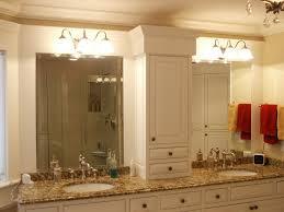 fancy bathroom mirror for double vanity bathroom optronk home