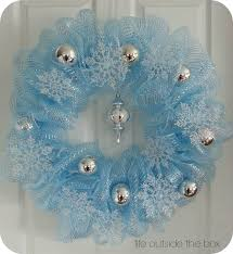 decoration ideas mesh christmas wreath ideas to create more