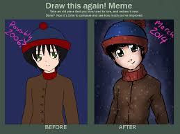 Stan Marsh Meme - draw this again stan marsh by xcrazybloodsuckerx on deviantart