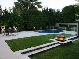 eco outdoor cush limestone pavers used in modern pool and