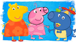 backyardigans peppa pig coloring pages coloring book and rhymes