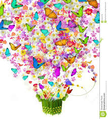 butterfly on flowers royalty free stock images image 26523739