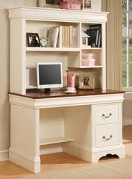 White Office Desk With Hutch Sauder Harbor View Corner Computer Desk With Hutch Antiqued