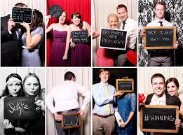 photo booths for weddings blackboards make awesome photo booth props and encourage your