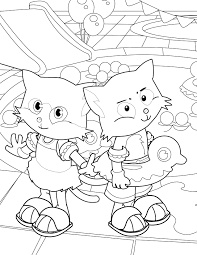 pool party coloring page handipoints