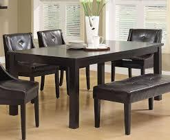 espresso dining room set wonderful contemporary espresso dining table furniture home design