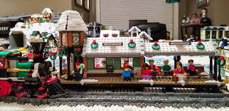 lego winter station lego winter