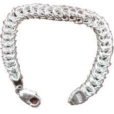 silver bracelet chains images Mens silver chain bracelet shree laxmi chains manufacturer in jpg