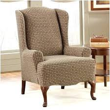 Slipcover For Wingback Chair Design Ideas Wing Chair Slipcover Cheap Wingback Chair Covers Decoration Ideas