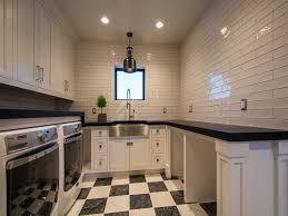 Best Flooring For Laundry Room Best Black And White Floor Tile Room