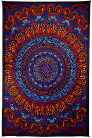 Hippie Curtains To Cheer Up Your Room 3d Origin Of Life Tapestry 60 X 90 Inches Sunshinejoy Com