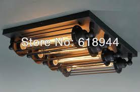 Rustic Ceiling Lights 4 Ls American Rustic Vintage Ceiling Light E27 Ceiling Light