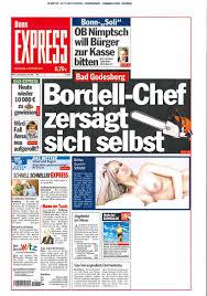 Kino Bonn Bad Godesberg Nach Selbstmord Des Bordell Chefs Toni M Aus Bad Godesberg So