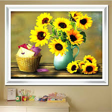 vase decoration ideas sunflower vase decoration ideas in blue painting 27114 gallery