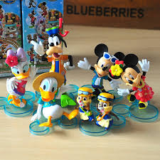 mickey mouse clubhouse 6 pieces action figures minnie donald