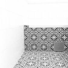 tiled bathtub with tiles from marrakech design maroccan tiles