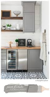 ikea blue grey kitchen cabinets how to match ikea cabinet color a thoughtful place