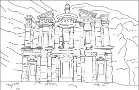 famous places colotring pages