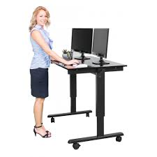 Adjustable Height Desk Crank by Standup Craft Table