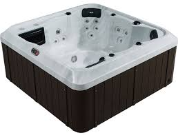 Jacuzzi Waterfall Faucet Replacement Montreal Se 27 Jet 6 Person Tub With Led Lighting And