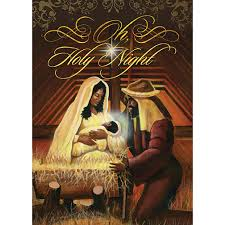 black christmas cards holy box set holy greeting cards and
