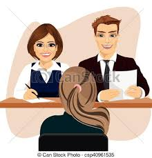bureau recrutement femme bureau candidat séance bureau recrutement vecteurs