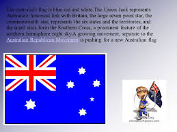 Pictures Of The Australian Flag Australia The Capital Of Australia Is Canberra Sydney And