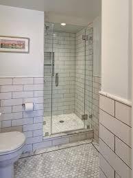Tile Shower Door by 20 Clear Glass Tile Shower Nyfarms Info