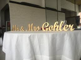 mr mrs sign for wedding table custom name sign top table sign for wedding mr and mrs family sign