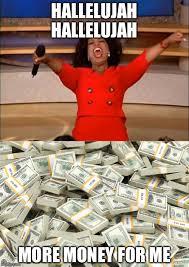 Oprah Winfrey Meme - oprah winfrey wins free money imgflip