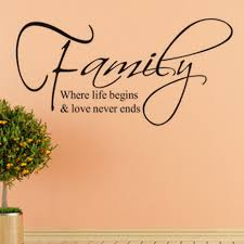 Family And Love Quotes by Online Get Cheap Family Where Life Begins And Love Never Ends