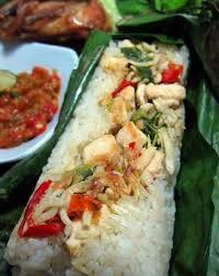 cara membuat nasi bakar khas bandung resep cara membuat nasi merah bakar isi ayam kemangi pedas spesial