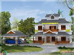 2500 Sq Ft House by 2500 Sq Ft Slop Roof Home Kerala Home Design Bloglovin U0027