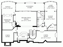 house plans with rear view house plans with expansive rear view house design plans
